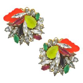 Erickson Beamon Color Me Crazy Earrings