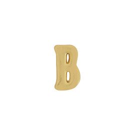 Gorjana Single Mini Alphabet B Stud