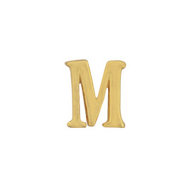 Gorjana Single Mini Alphabet M Stud