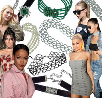 Trend Watching at Fashion Week: A Time For Chokers