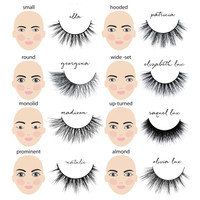 Eyelashes Made For You!  3D Mink Lashes at SOPHIESCLOSET.COM