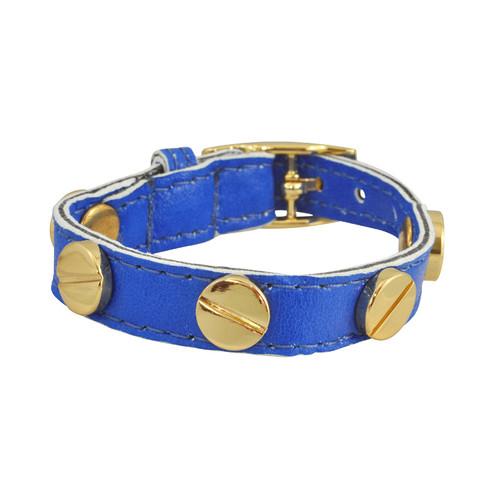 CC Skye Electric Blue Screw Bracelet