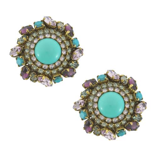 Erickson Beamon Turquoise Earrings