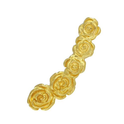 LeiVanKash Gold Rose Ear Cuff