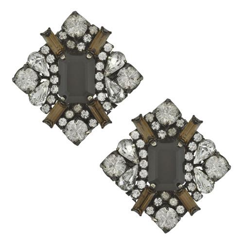 Erickson Beamon Crystal Fade Earrings