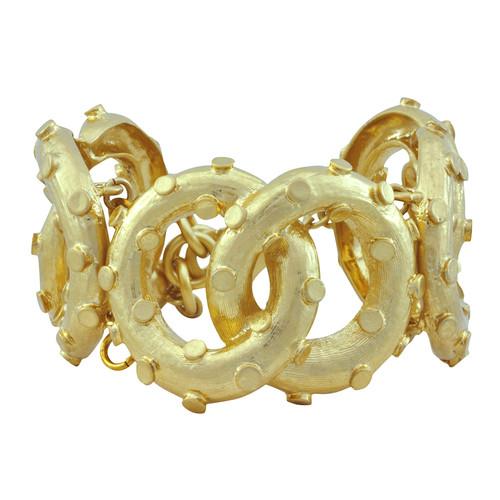 Lulu Frost Lunar Gold Bracelet