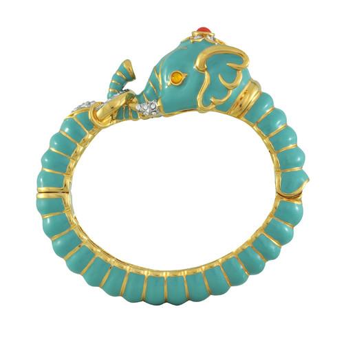 Kenneth Jay Lane Elephant Bracelet