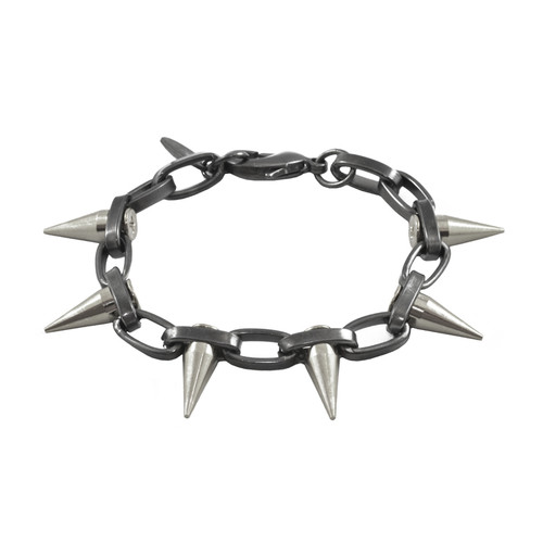 Joomi Lim Chain Bracelet with Single Spikes
