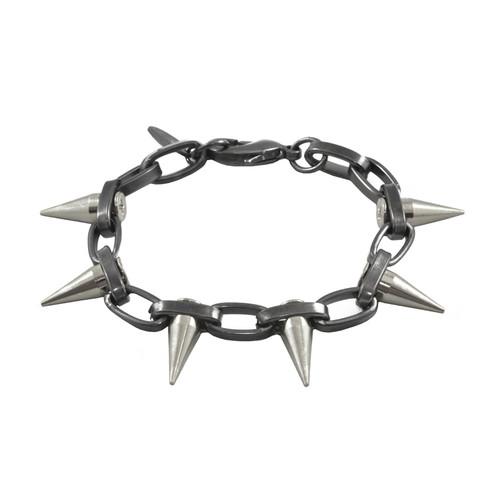 Joomi Lim Chain Bracelet with Single Spikes