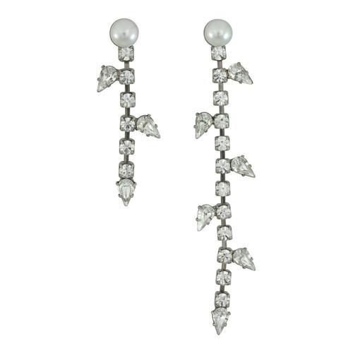 Dannijo Margot Asymmetrical Earrings