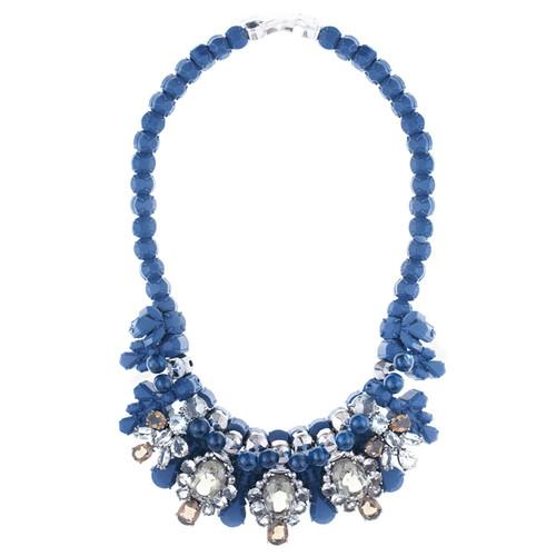 EK Thongprasert Navy Royale Necklace