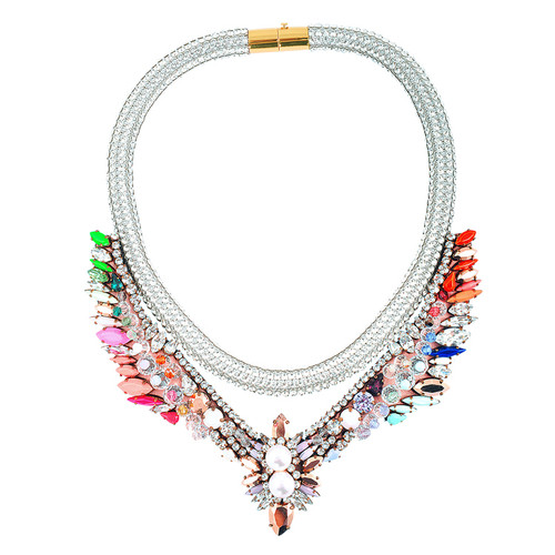 Shourouk Tabatha Meche Necklace