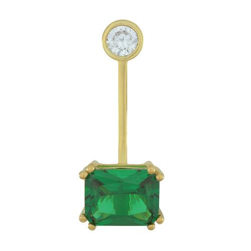 Armadoro Emerald Crystal Ear Jacket