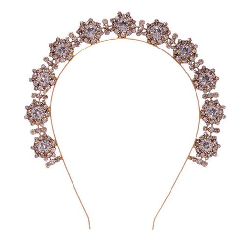 Jennifer Behr Bellosa Gold Crystal Headband