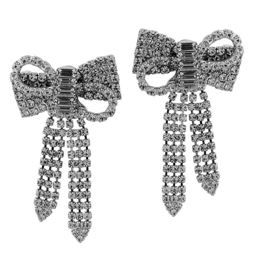 Jennifer Behr Lola Gunmetal Earrings