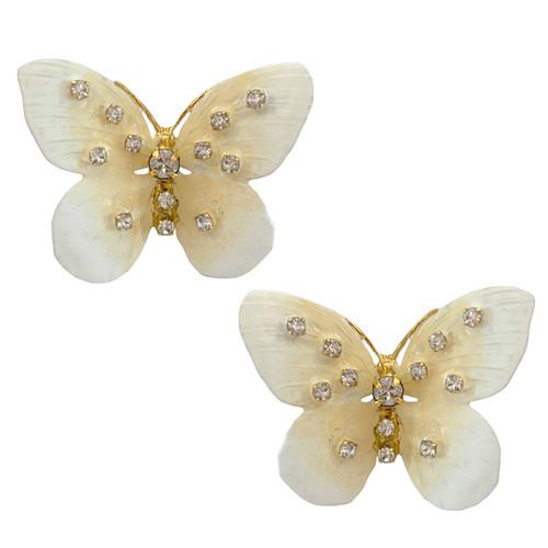 Jennifer Behr Chrysalis Butterfly Earrings
