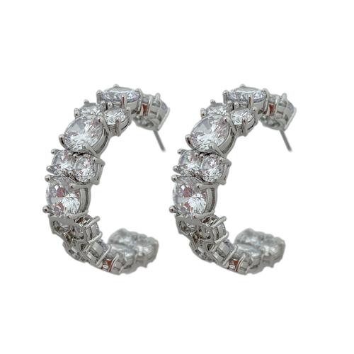 CZ by Kenneth Jay Lane Jennifer Statement Earrings