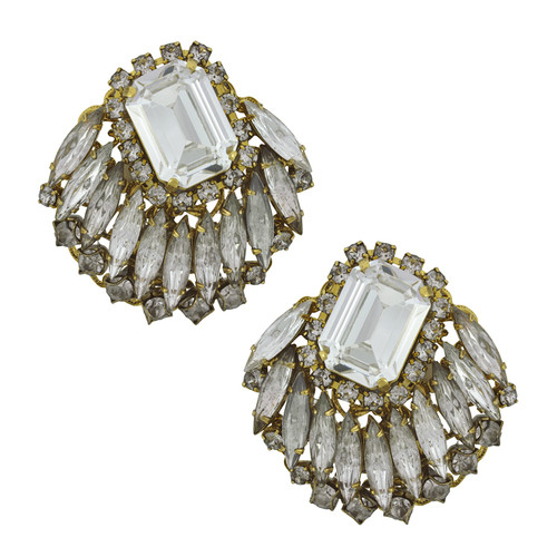 Erickson Beamon Gold Digger Earrings