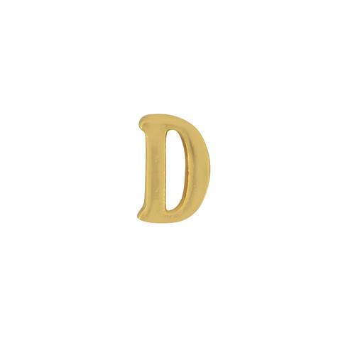 Gorjana Single Mini Alphabet D Stud