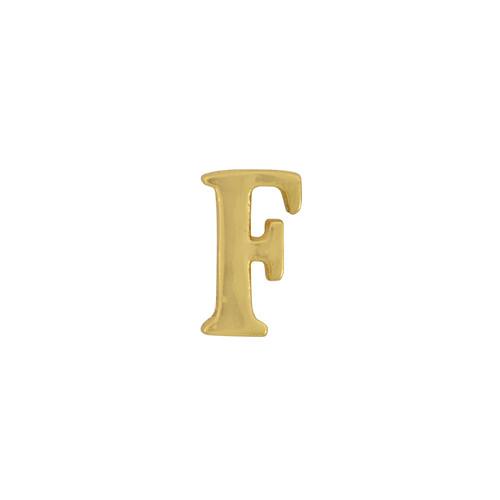 Gorjana Single Mini Alphabet F Stud