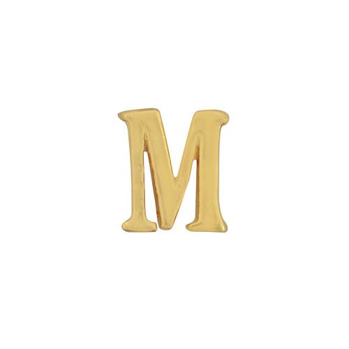 Gorjana Single Mini Alphabet M Stud