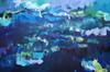 Seascape | 122 cm x 183 cm | Acrylic on canvas by Kate Barry