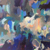 Kate Barry Artist | Greystones | 100 cm x 100 cm | Acrylic on canvas
