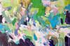 Kate Barry Artist | Wanderings |  64 cm x  100 cm | Acrylic on canvas