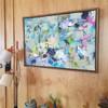 Fleece 2 | Acrylic on canvas by Kate Barry