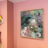 Veil | 73 cm x 63 cm | Framed | Acrylic and water based oil on linen