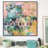 Kaleido Cross | 93 cm x 93 cm | Framed | Acrylic and water based oil on linen