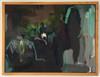 Poplar | 33 cm x 43 cm | Framed | Oil, acrylic and pastel on board