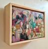 Neopolitan | 15 cm x 20 cm | Framed | Oil and acrylic on canvas