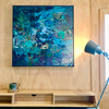 Secret Paths   48 cm x 60 cm   Framed   Acrylic and Oil on board