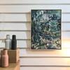 After Rain Track Remnants | 63 cm x 47 cm | Framed | Oil on  canvas