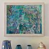 Back Yard 1    28 cm x 33 cm   Framed   Oil on canvas