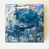 Borderline | 20 cm x 20 cm x 1.5 cm | Oil on board