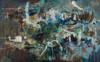Bush Bathing | Framed Fine Art Giclée Print on canvas