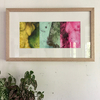 Disclose Tritych   Framed 28 x 48 cm   Digital Art Giclée Print on paper