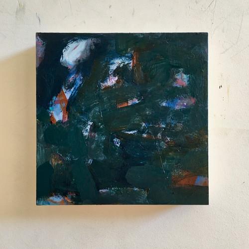 Sable  | 20 cm x 20 cm x 3.5 cm | Oil on timber block