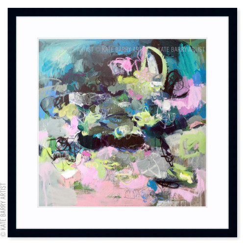Scramble limited edition art print | Black | Kate Barry Artist
