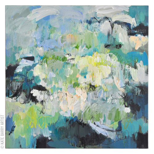 Kate Barry Artist | Submersion | 52cm x 52cm