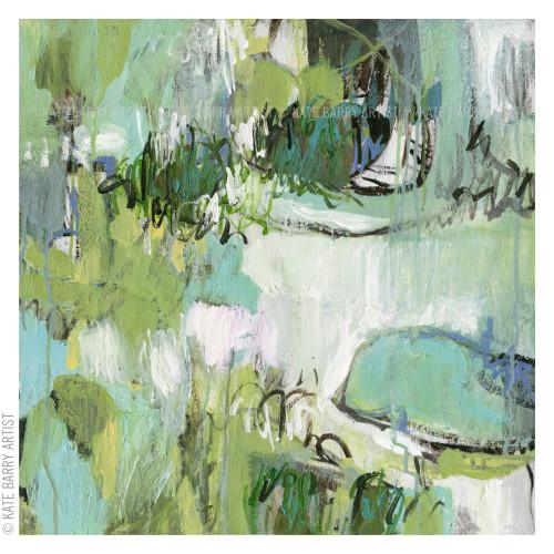 Kate Barry Artist | Willows | 59cm x 59cm