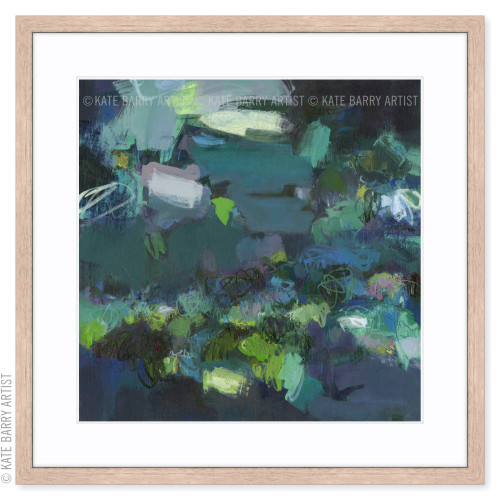 Aerial Blue limited edition art print | Natural | Kate Barry Artist