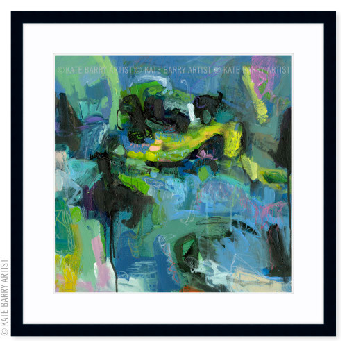 Ebb and Surge limited edition art print | Black | Kate Barry Artist