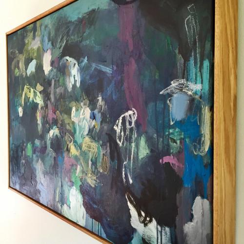 Convolution | 61 cm x 92 cm | Acrylic on canvas by Kate Barry