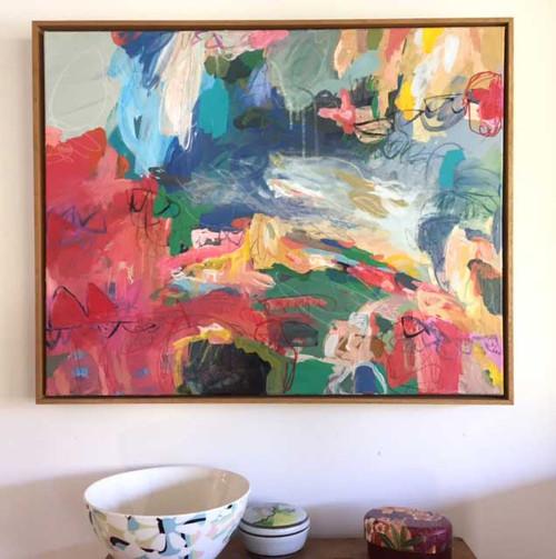 Kate Barry Artist | Circus | 64 cm x 79 cm | Acrylic on canvas