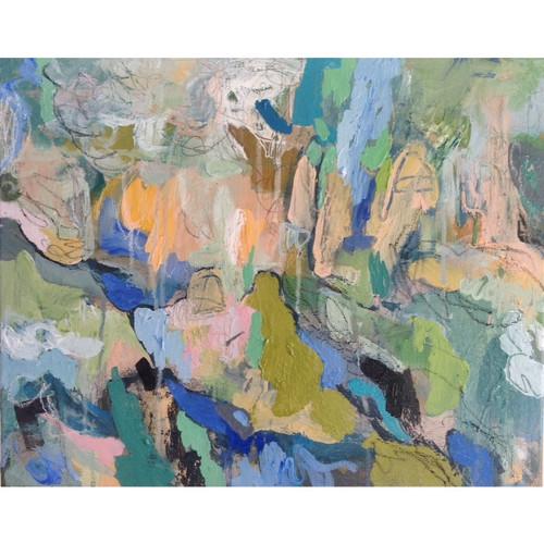 Kate Barry Artist | Cloudplay | 50 cm x 64 cm | Acrylic on canvas