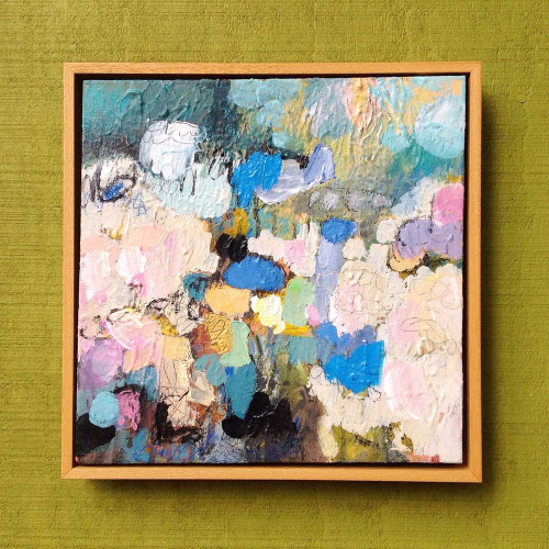 Kate Barry Artist | Fleece | 28 cm x 28 cm | Acrylic on canvas