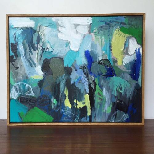 Kate Barry Artist | Sway |  43 cm x 53 cm | Acrylic on canvas